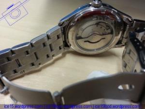 Orient Automatic Mens Semi Skeleton Watch FDB05001W