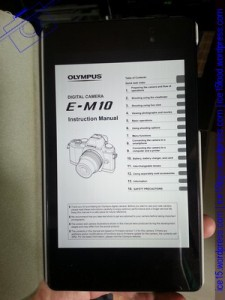 Olympus E-M10 Manual