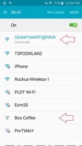 Philippine Airport free WiFi