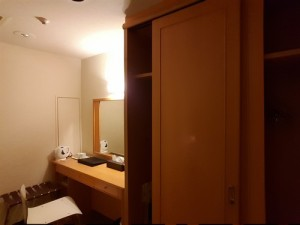 Ibis Hotel Shinjuku Japan wardrobe