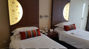 Marina Mandarin Singapore Twin Bed