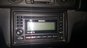 Mitsubishi Adventure Stereo Seek Button