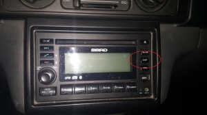 MMAD Mitsubishi Adventure Stereo DISP Button