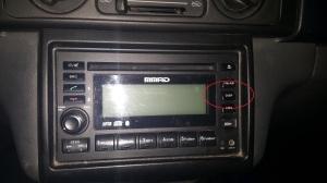 MMAD Mitsubishi Adventure Stereo DISP Button