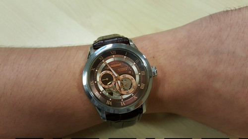 Bulova 96A120 BVA Series Dual Aperture Dial Watch