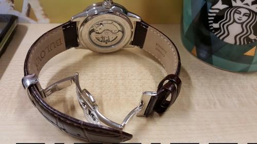 Bulova leather strap