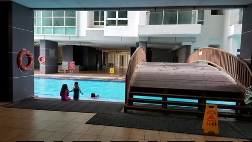 KSL Residences Pool Area